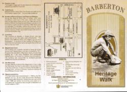 Barberton Brochure - Heritage Walk