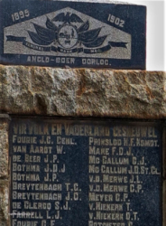 Carolina  - Anglo Boer War Monument (1)