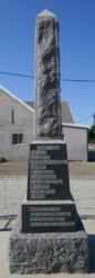Jansenville Memorial 1914 - 1918