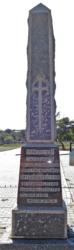 Jansenville memorial WWII