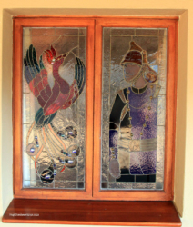 Orion Magoebaskloof Hotel stained glass (1)