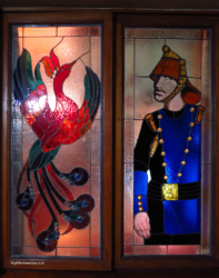 Orion Magoebaskloof Hotel stained glass (2)