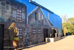 Orion Magoebaskloof Hotel wall mural. (1)